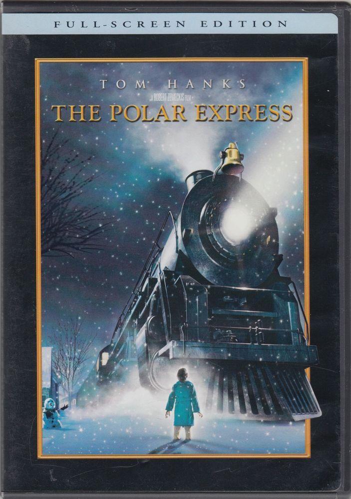 The Polar Express (DVD, 2005, Full Frame) Tom Hanks