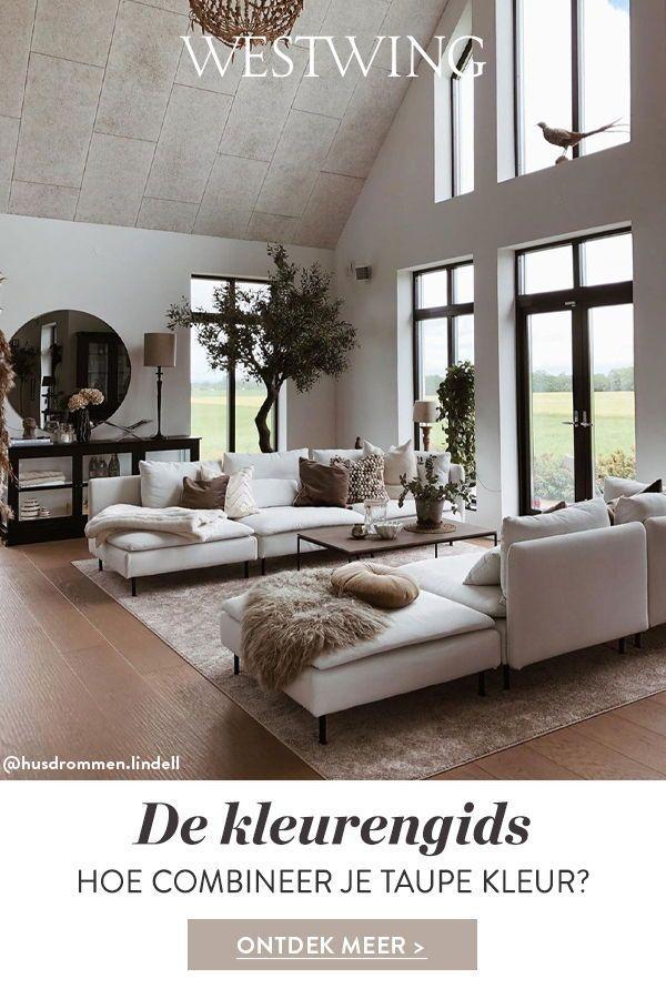 Tips Voor Het Combineren Van Taupe Taupe Muren Interieur Woonkamer Huiskamerideeen