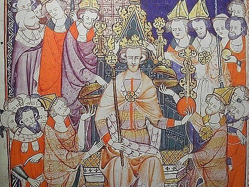 Famous Medieval Paintings Of Kings The medieval city of ...
