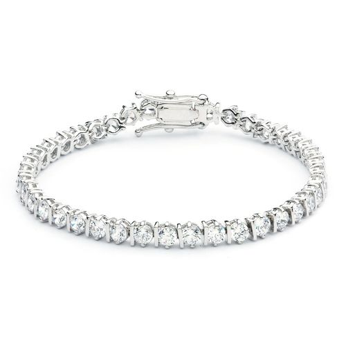 Cubic Zirconia Elegance Tennis Bracelet