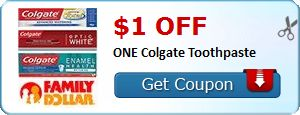 $1.00 off ONE Colgate Toothpaste