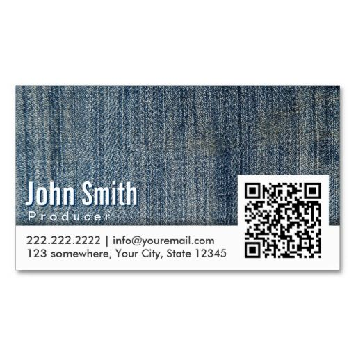 206 best tv producer business cards images on pinterest make a terrific first impression with this blue jeans qr code dentist business card customise this design as your own just in minutes colourmoves