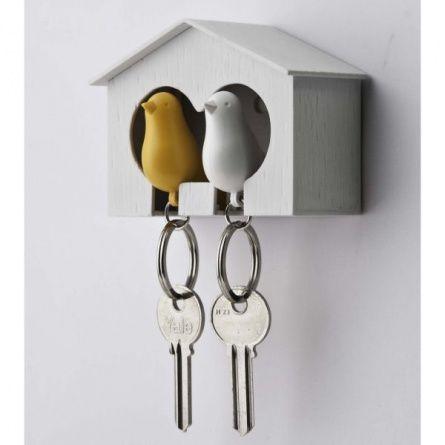 Держатель и брелок для ключей/Birds key house