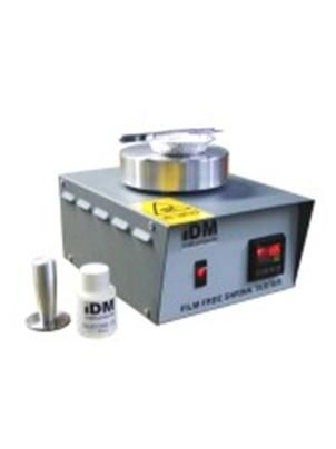Linear Thermal Shrinkage or Free Shrink is defined as the irreversible and rapid reduction in linear dimension, in a specified direction, occurring in film exposed to elevated temperatures.Shrinkage in this way is related to the material of the film and internal stresses locked into the film (by the manufacturing process).The Film Free Shrink Tester consists of a small, circular aluminium block, electrically heated and controlled by a temperature controller.