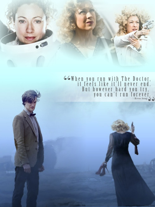 River & the Doctor...I loved every time she came on the screen <3