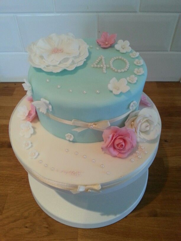 Th Birthday Cakes Vintage
