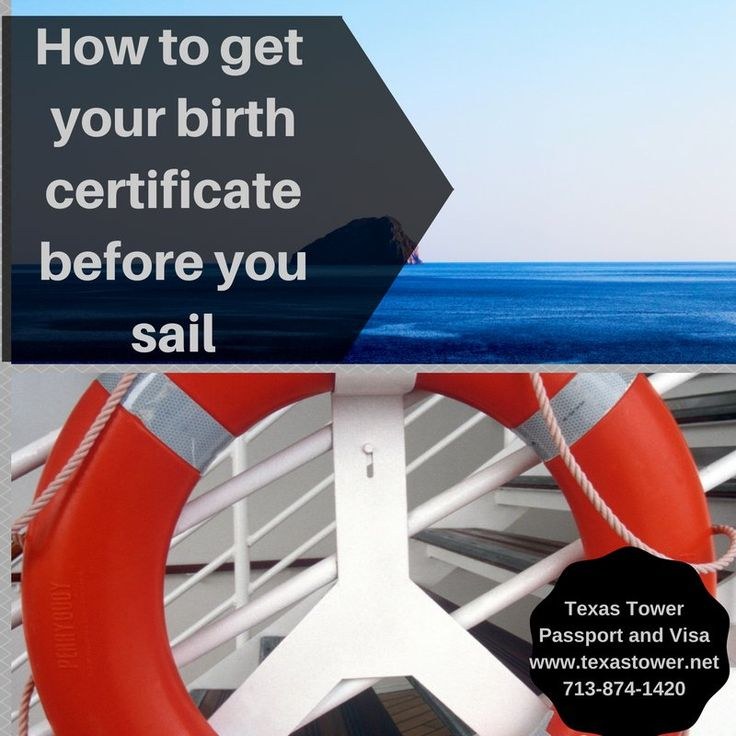Planning a cruise for the holidays? Make sure you have a certified copy of your birth certificate! #cruise #travel #luxury
