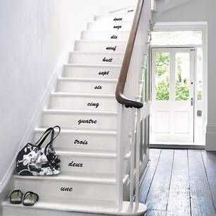 Counting #stairs en francais . . .