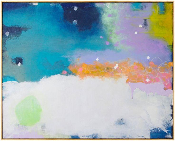 Maxfield Parrish Dreams by Jenny Prinn. Available at Serena and Lily.  serenaandlily.com