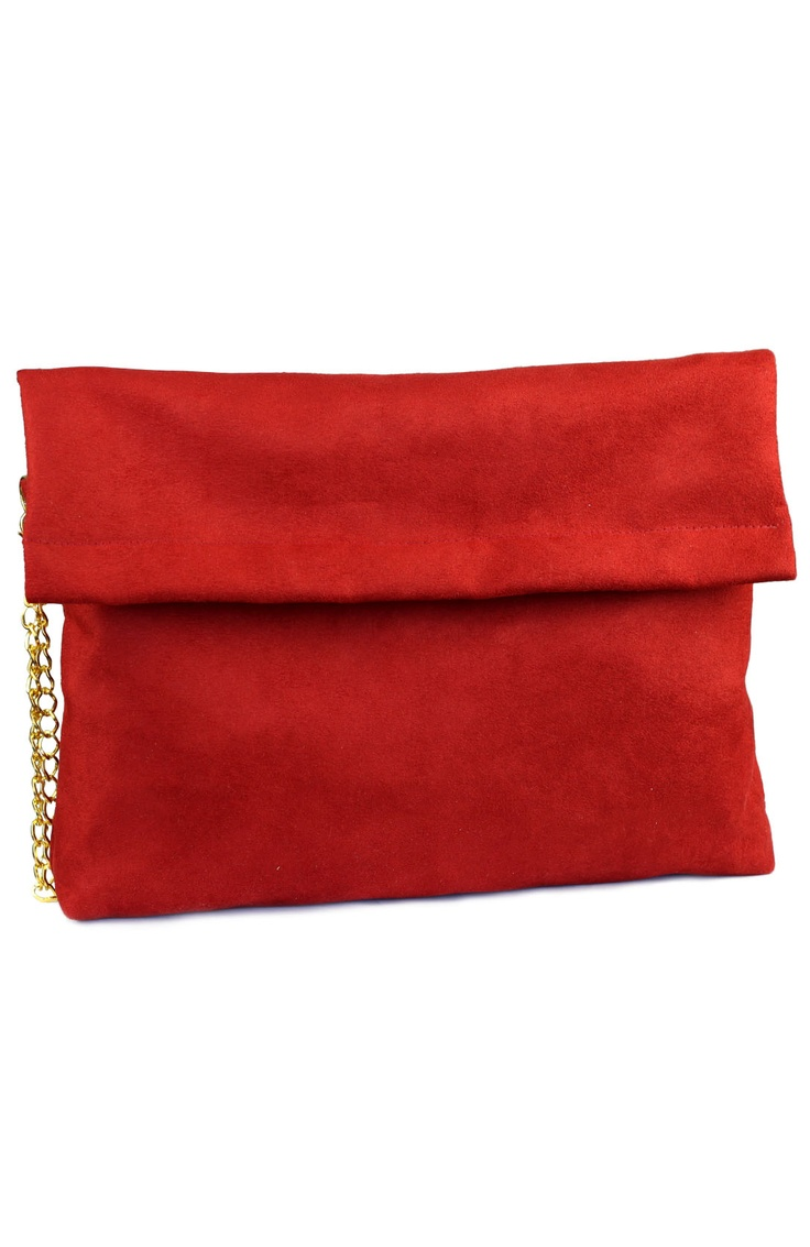 Statement Clutch - OCTO RED CLUTCH 2 by VIDA VIDA ulP1y1PmJ6