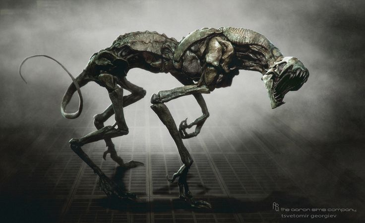 Alien Planet Creatures | Alien Creature Concept Art ...