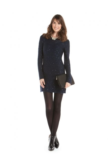 JACOB - TUNIC WITH SEQUINS AND OPEN BACK http://www.jacob.ca