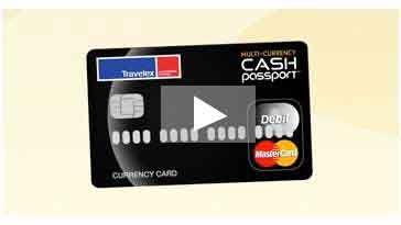 Cash Passport Card | Travelex