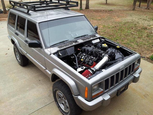 73 best jeeps images on pinterest jeep stuff jeep xj mods and clean gm swap into a cherokee fandeluxe Images