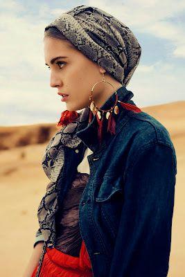 gypsy head scarf