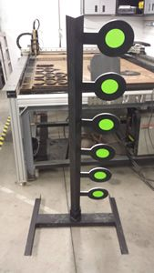 Dueling Tree Shooting Target Welding Projects Steel