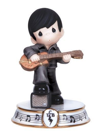Precious Moments Elvis Presley Heartbreak Hotel Come Back Tour Figurine #133032