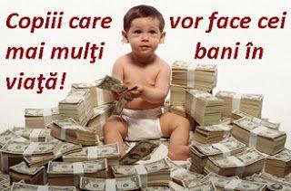 diane.ro: Copiii care vor face cei mai mulţi bani în viaţă!