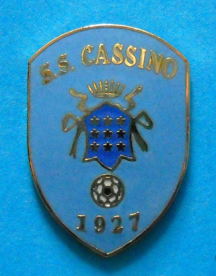 DISTINTIVO PIN - S.S. CASSINO CALCIO - cod. 10