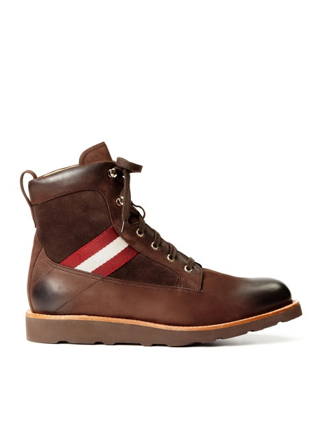 Bally Grosgrain Hiking Boots at Park & Bond