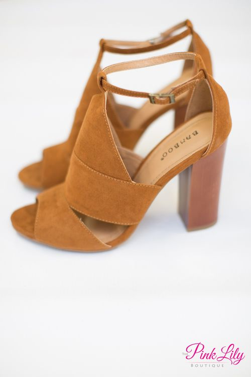 The Madelyn Heels Chestnut