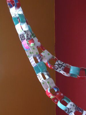 Oilcloth Addict - Feeding your Oilcloth Addiction with tips and tutorials with Modern June: OCA Tutorial #5 Oilcloth Chain by Suzanne