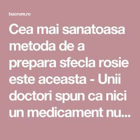 Cea mai sanatoasa metoda de a prepara sfecla rosie este aceasta - Unii doctori spun ca nici un medicament nu e mai puternic decat ea - Bucataria Romaneasca