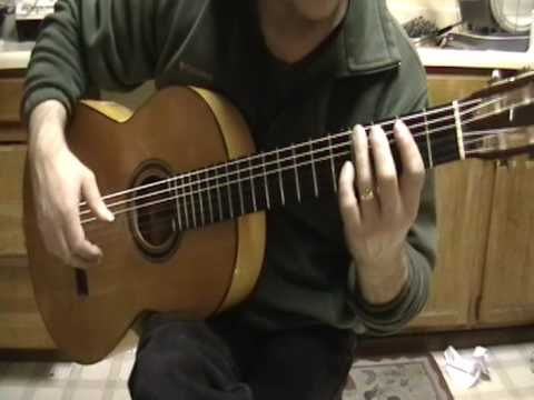 Pachelbel's Canon Classical Guitar Lesson 8 - YouTube