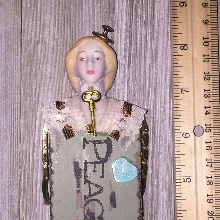 Peacefull Oddity Curiosity Unusual Vintage Victorian Ooak Doll | eBay