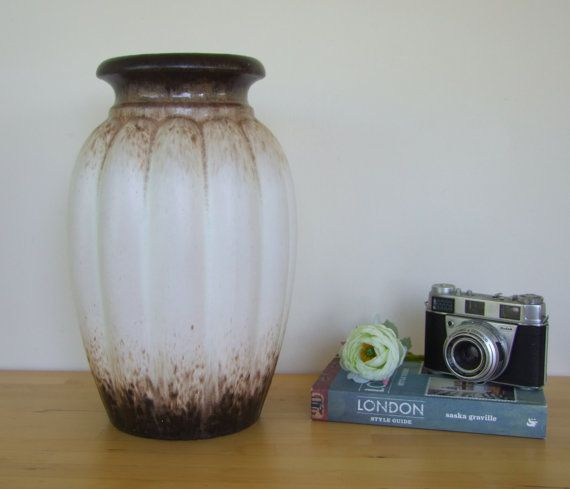 Large Retro Scheurich Keramik West German Vase - 1970's West German Pottery, Earthenware PICK UP ONLY