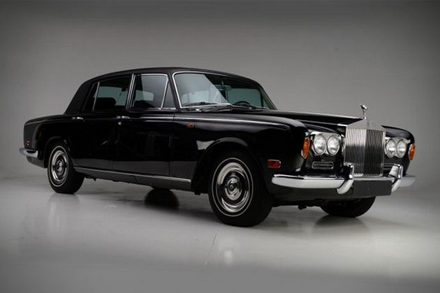 Johnny Cash's 1970 Rolls-Royce Silver Shadow For Sale 2
