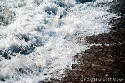 River force at massive storm