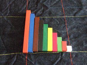 Juegos sencillos (iniciales) con las regletas de Cuisenaire | Recursos para maestros de apoyo