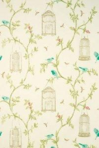 Nina Campbell Birdcage Walk Fabric