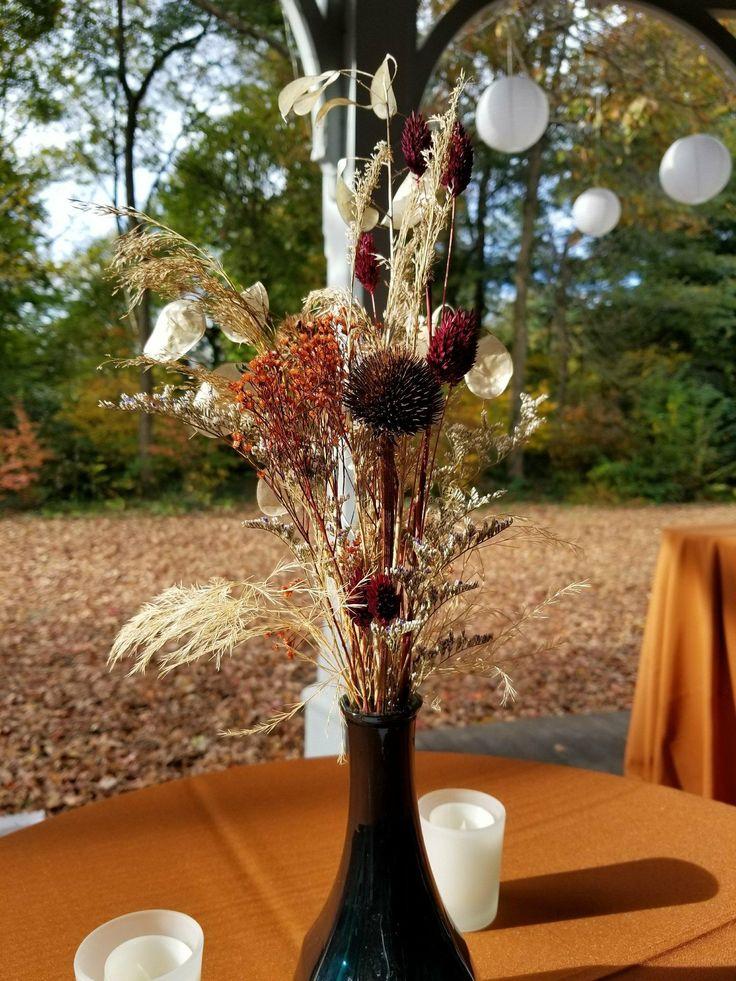 November wedding at Awbury Arboretum
