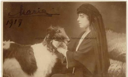 BU-F-01073-1-00153-1 Regina Maria a României, 1919 (niv.Document)