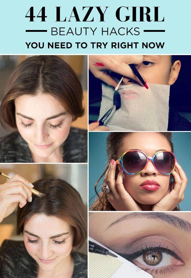 44 Beauty Tipps für Faule :D