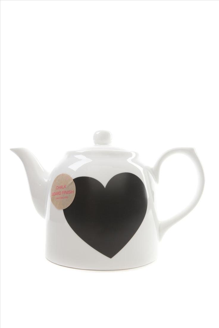 Chalkboard teapot | Cotton On