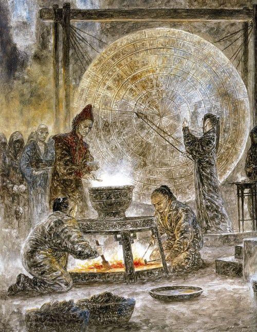 Луис Ройо - Dead Moon (57 работ) (2 часть)