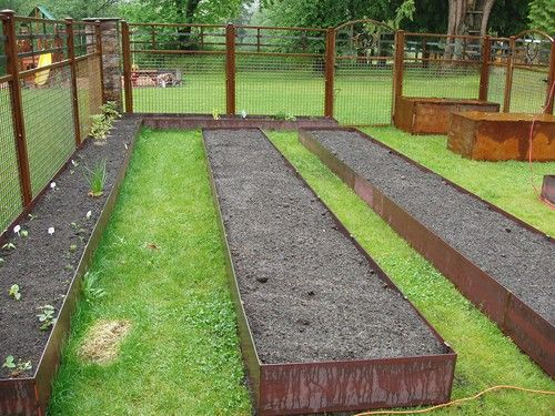 17 best images about deer fencing for vegetable gardening on pinterest gardens raised beds - Deer proof vegetable garden ideas ...