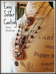 Easy Solder Casting Online Workshop now on DVD by catcreations92a