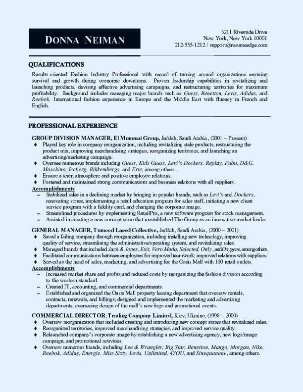 The 25+ best Fashion resume ideas on Pinterest Fashion designer - format for professional resume