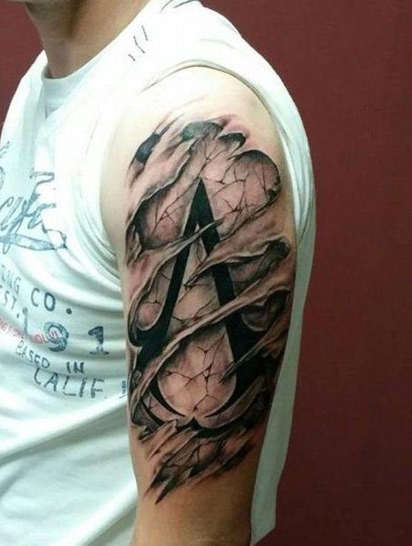 Ripped Skin Tattoos (8)