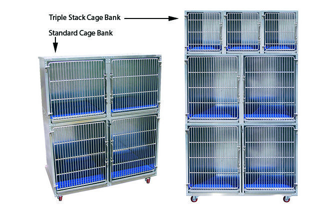 Large and small dog cages and cattery cages, built to last in galvanized steel. See why Direct Animal's strong, easy-clean designs are so popular