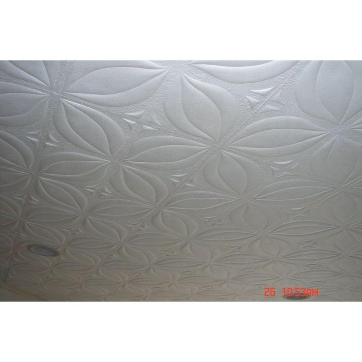 R7W Tulip White Styrofoam Glue Up Texture 20x20 Ceiling ...