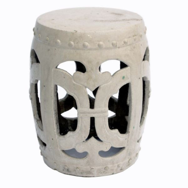 Vanilla Club Garden Stool