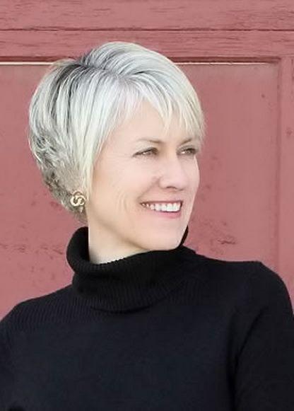 25 best Short Grey Haircuts ideas on Pinterest