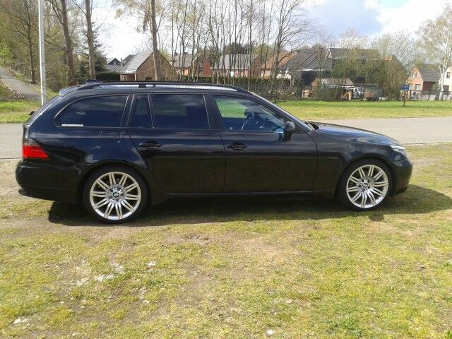 Bmw 520d on m-style 172 19 inch rims