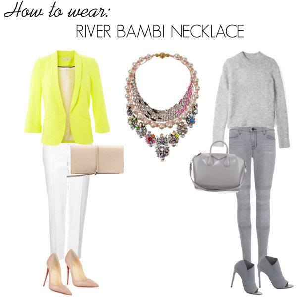 River bambi necklace