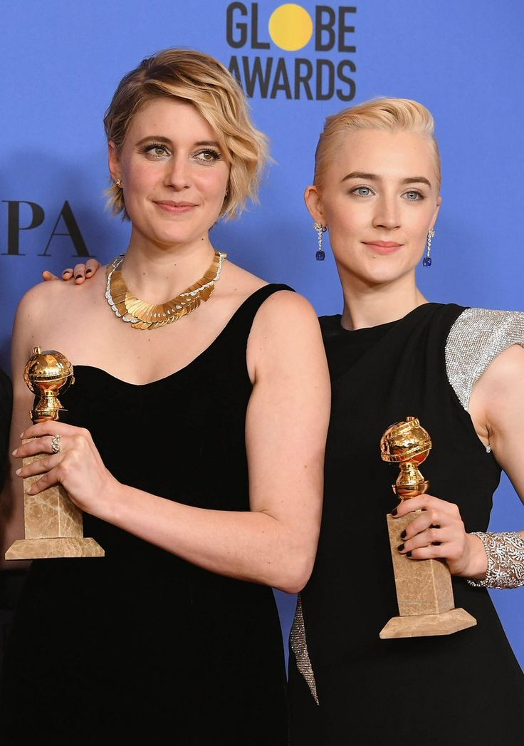 Saoirse Ronan (@saoirsenews) | Twitter Saoirse Ronan       @saoirsenews   8m8 minutes ago  More  Saoirse Ronan and Greta Gerwig at the #GoldenGlobes